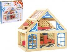 Кукольный дом Расписной 2 этажа