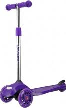 Самокат MobyKids №2 со светящимися колесами фиолетовый