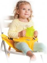 Мобильный стульчик для кормления 2 положения, желтый