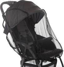 Москитная сетка Baby care Star для прогулочных колясок, черный