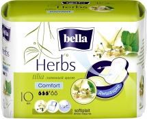 Прокладки женские Bella Herbs Soft komfort Липа 10 шт