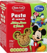 Паста Dalla Costa Disney Mickey Mouse & Friends с 18 мес 250 г
