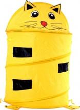 Корзина для игрушек Котенок, желтый