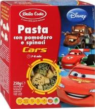 Паста Dalla Costa Disney Тачки со шпинатом и томатами с 18 мес 250 г