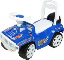 Машина-каталка Ориончик, синий