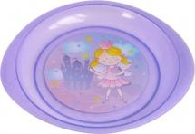 Тарелка Курносики Принцесса для вторых блюд, фиолетовый