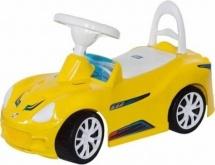 Каталка Спорт-кар Орион, желтый