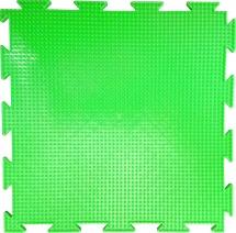 """Массажный коврик Орто """"Трава"""" мягкий 25x25 см, флуоресцентный салатовый"""