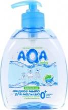 Жидкое мыло AQA Baby для малыша с дозатором 300 мл