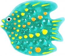 Мини-коврик Valiant Тропическая рыбка, бирюзовый