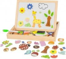 Доска для рисования Чудо-чемоданчик Зоопарк