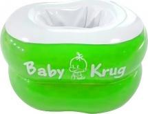 Горшок Baby Krug надувной от 15 мес, зеленый