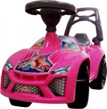 Машина-каталка Орион Ламбо Принцесса, pозовый (мелодия)