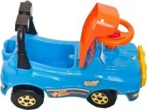 Машинка-каталка Полесье Джип (без гудка) голубой