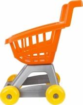 Тележка Совтехстром для супермаркета, оранжевый