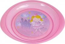Тарелка Курносики Принцесса для вторых блюд, розовый