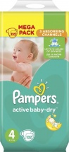 Подгузники Pampers Active Baby 4 (8-14 кг) 132 шт