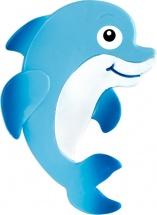 Мини-коврик Valiant Дельфиненок голубой