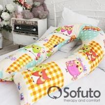 Подушка для беременных Sofuto UComfot Patchwork Owl