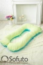 Подушка для беременных Sofuto UAnatomic Praline blue