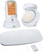 Радионяня Ramili с двумя детскими блоками и монитором дыхания RA300DUOSP