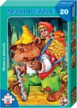 Макси-пазлы Десятое королевство Маша и медведь 20 элементов