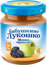 Пюре Бабушкино лукошко Яблоко-Чернослив с 5 мес 100 г