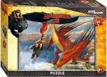 Пазлы Steppuzzle Драконы 54 элемента