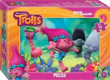Пазлы Steppuzzle DreamWorks Trolls 54 элемента