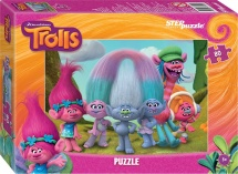 Пазлы Steppuzzle Trolls 80 элементов