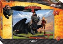 Пазлы Steppuzzle Драконы 120 эл