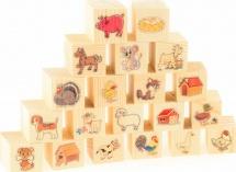Кубики На ферме 20 шт