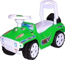 Машина-каталка Ориончик, зеленый