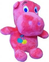 Мягкая игрушка TashaToys Бегемотик 17 см