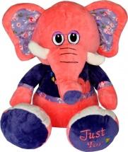 Мягкая игрушка TashaToys Слоненок 22 см