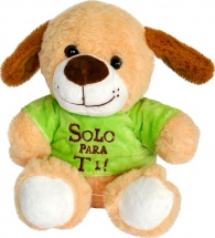 Мягкая игрушка TashaToys Собачка 20 см
