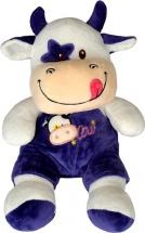 Мягкая игрушка TashaToys Корова в штанишках 22 см