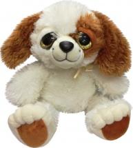 Мягкая игрушка TashaToys Собачка с большими глазками 22 см