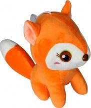 Мягкая игрушка TashaToys Лисичка 18 см