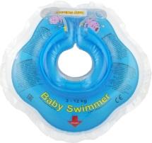 Круг на шею Baby Swimmer голубой (полуцвет) 3-12 кг