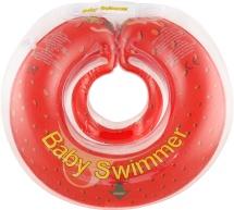 Круг на шею Baby Swimmer Флора Клубничка 6-36 кг