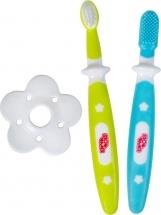 Набор зубных щеток Пома с 4 мес 2 шт