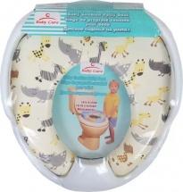 Сиденье для унитаза Baby Care Африка c ручками