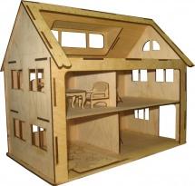 Сборная модель Грат Двухэтажный домик