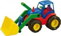 Трактор ZebraToys Active с ковшом