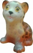 Игрушка резиновая Кудесники Леопард