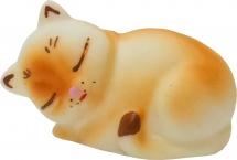 Игрушка резиновая Кудесники Кошечка Соня 5 х 3 см