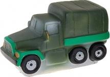 Игрушка резиновая Кудесники Военный грузовичок
