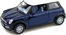 Машинка Kinsmart Mini Cooper, синий