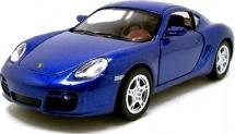 Машинка Kinsmart Porsche Cayman, синий